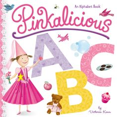 A is for Apple. B is for Bubble Bath. C is for Cupcake. What could be better than learning your ABC's with Pinkalicious in this pinkamazing board book? Full of exciting illustrations and fun, playful words, the littlest readers will have a great time learning with Pinkalicious in one of her first board books ever!