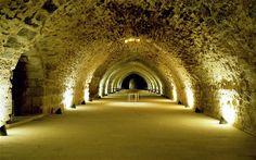 Interior of Karak Castle