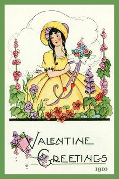 Valentine Quilt Block Set 9 - Single 4x6 quilt block $4.95. Set of 4-4x6 quilt blocks with free Wall Hanging Pattern $17.95 #AMERICANQUILTBLOCKS