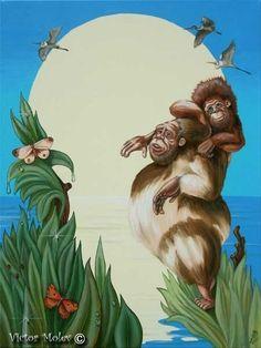 """Victor Molev : C Darwin"""