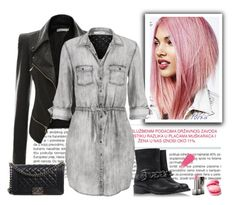 """""""N Dj"""" by nevenadj ❤ liked on Polyvore featuring Burberry, maurices, Chanel, Giuseppe Zanotti and polyvoreeditorial"""