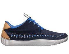 Nike Solarsoft Moccasin Woven Premium QS – Midnight Navy