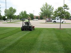 Barrett Lawn Care specializes in commercial mowing as well as both commercial and residential fertilization and weed control. #lawncare #mowing #weedcontrol
