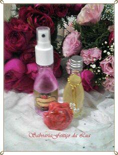 Kit para o dia dos Namorados...  Aromatizador de Ambiente óleo de massagem  sabonete em forma de Flor!  saboariafeiticodalua@bol.com.br
