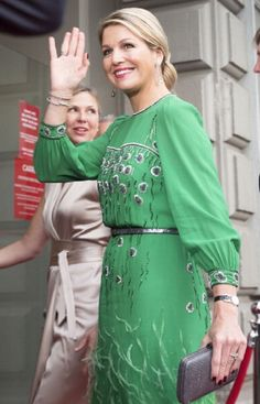 Dutch Queen Maxima arrives for the Freedom Concert 2014 in Amsterdam, Netherlands