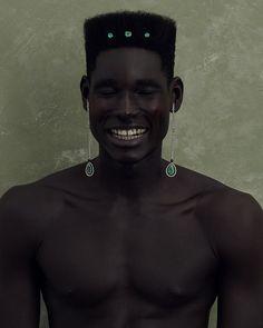 Black Boys, Black Men, Pretty People, Beautiful People, Skin Girl, Kreative Portraits, Black Photography, Aesthetic People, Afro Punk