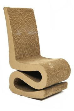 Fantastic Cardboard Rocking Chair | red modern furniture