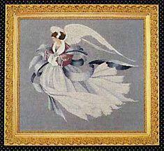 Angel of Winter - Cross Stitch Pattern