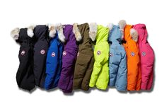 Canadian label Canada Goose andJapanese