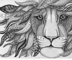 zentangle animal art - Google Search