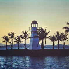 Lighthouse at Hamilton Island Marina, Queensland, Australia