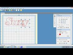 Learn How To Weld Text With Sure Cuts Alot & Cut With Your Cricut Tutorial - YouTube
