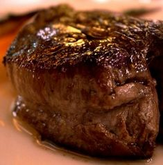 Get your fork and steak knife ready to cut into this juicy Cabernet Cherry Filet Mignon Steak.
