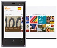 babbel for windows phone 8    http://wmsurface.com/learn-11-languages-with-babbel-for-windows-phone-8/