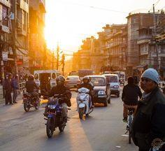 Kathmandu.  #kathmandu #nepal #ktm #sunset #sunset_pics #sunsetlovers #chuchepati #streetphoto #photog #photographer #photographie #dutourdumonde #citylife #traffic #DKTM #enjoythenatural #webstapick #nepal8thwonder #exploringeverything #traveltheworld #travelling