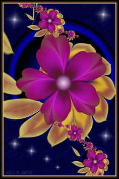 Purple Blooms 2 by JCCJ756 on DeviantArt