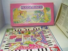 Amazon.com: Parker Brothers Hugga Bunch Board Game: Toys & Games