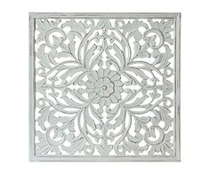Panel decorativo de madera DM Lena, blanco - 60x60 cm Panel, Rugs, Home Decor, Wood Pictures, Jitter Glitter, White People, Home, Homemade Home Decor, Types Of Rugs
