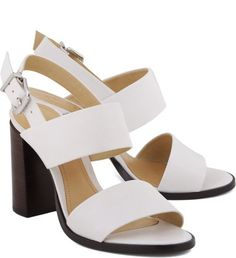 Sandália Black Heels Pearl