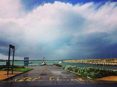 Breakwater Warrnambool VIC #instagram #instadaily #instagramers #instacool #instalove #instalike #instamood #instafollow #beach #rainy #sky #ocean #warrnambool #visitwarrnambool #victoria #travel #bestoftheday #best #hello #lifeslittlepleasures #love #sunday by rose_illes