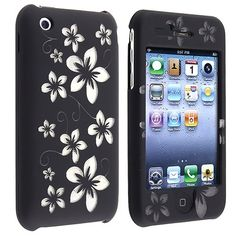 Laser Black Hawaii Clip On Crystal Case Compatible With Apple® iPhone® / Apple® iPhone® by eForCity Samsung Cases, Phone Cases, Apple Iphone, Iphone 4s, Ipod, Cell Phone Accessories, Hawaii, Crystals, Ebay