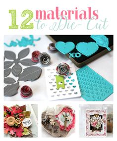 I Can Die Cut That?! 12 Materials to Try With Your Die-Cutting Machine