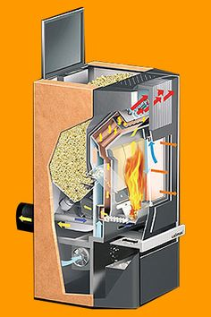 If you've just installed a pellet stove it's important to get into a habit of cleaning and upkeeping it to get the best out of the appliance. Furnace Heater, Wood Furnace, Dream Home Design, House Design, Underground Building, Wood Pellet Stoves, Stoves Cookers, Wood Pellets, Wood Fired Oven