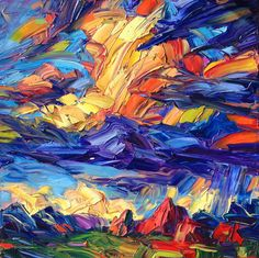 Contemporary Southwest Oil Paintings on Behance