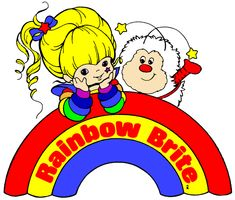 True story time.... growing up, I was OBSESSED with Rainbow Brite.        I'm pretty sure she's the reason I:  a) am o