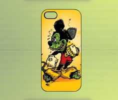 Mickey Mouse Zombie for iPhone 4/4S iPhone 5 Galaxy S2/S3/S4 & Z10 | WorldWideCase - Accessories on ArtFire