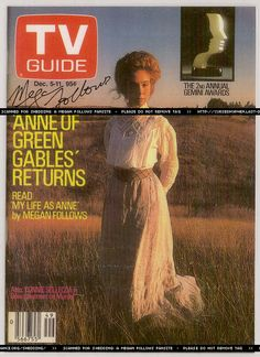 Image result for anne of green gables Megan Follows, Lm Montgomery, Anne Shirley, Learn German, Kindred Spirits, Prince Edward Island, Anne Of Green Gables, Tv Guide, Pride And Prejudice