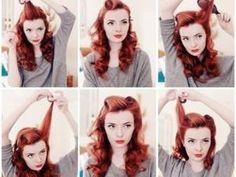 Tuto pour coiffure vintage • Hellocoton.fr