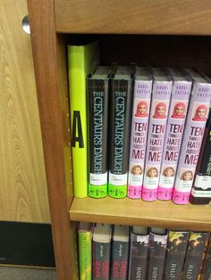 A new use for an old encyclopedia! Shelf markers in fiction.