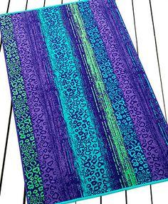 INC International Concepts Cheetah Beach Towel