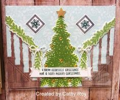 Guest Artist: Cathy Roy + 7 Ready for Christmas Cards