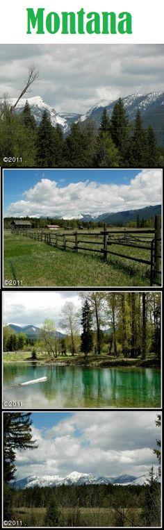 Better yet i want to live here.   Eureka, Montana