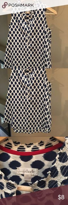 Blouse Get tons of compliments on this comfy blouse. Dress up or wear with jeans. Great condition. Charming Charlie Tops Blouses