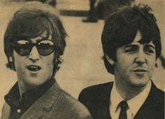 John and Paul Beatles Photos, The Beatles, Live Rock, John Paul, Beetles, Rock Stars, Long Live, Paul Mccartney, John Lennon