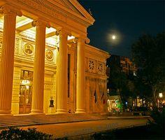 Ateneul Roman (Romanian Athenaeum), Bucharest Houses In France, Bucharest Romania, Black Sea, Bulgaria, Continents, Hungary, Museums, Big Ben, Castles