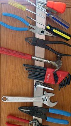 Look! Magnetic Tool Storage
