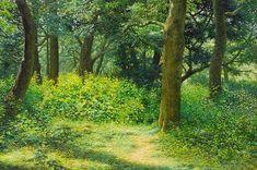 AN JUNG-HWAN - Florestas silenciosas Óleo