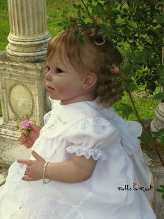 This item is NOT eligible for coupons/discounts including DOLLS20250. Bonnie is a beautiful standing baby/toddler kit from The Cradle. Sculpted by world renow