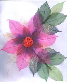 skeleton leaf flowers - Google'da Ara