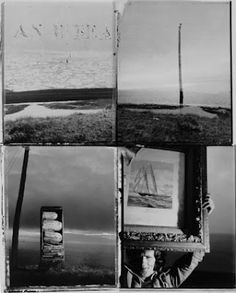 """Robert Frank, """"Andrea, Mabou, 1977 (with Ship)"""""""
