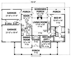 Plan No.242330 House Plans by WestHomePlanners.com