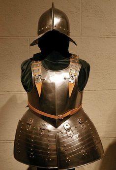 Half-armour for a pikeman, 1625-50.