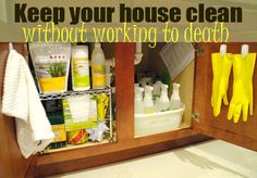How to keep your house clean without working to death - Living Rich on Less