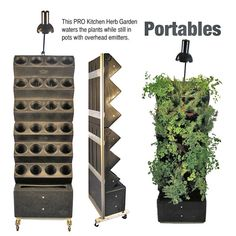 portable garden....yes!  aria ecoscapes vertical garden.  Not sure what this would cost?