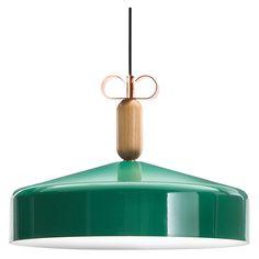 Bon Ton N2C1 Pendant Lamp Glossy Green - Ceiling - Lighting - Furniture & Lighting - The Conran Shop