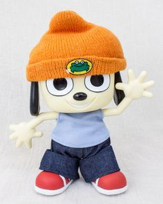 Parappa The Rapper Parappa Collectible Doll Figure Medicom Toy JAPAN GAME ANIME